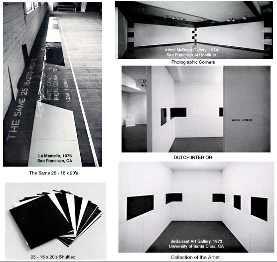 Installations, 1971-1976 - Lew Thomas